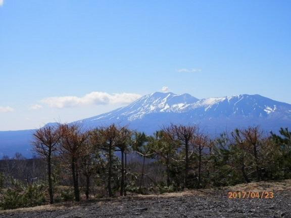浅間山の見える丘、バラギ高原