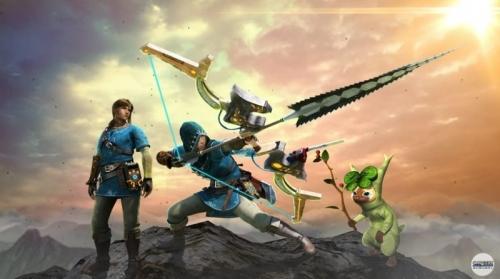 3DS『モンスタハンター ダブルクロス』新PV公開。「ゼルダBoW」や「大神」「牙狼〈GARO〉」とのコラボなども紹介