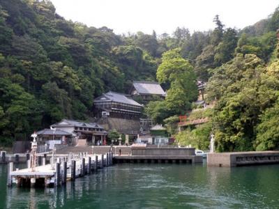 竹生島港.
