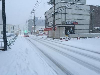 滋賀県南部に大雪(17/01/15)