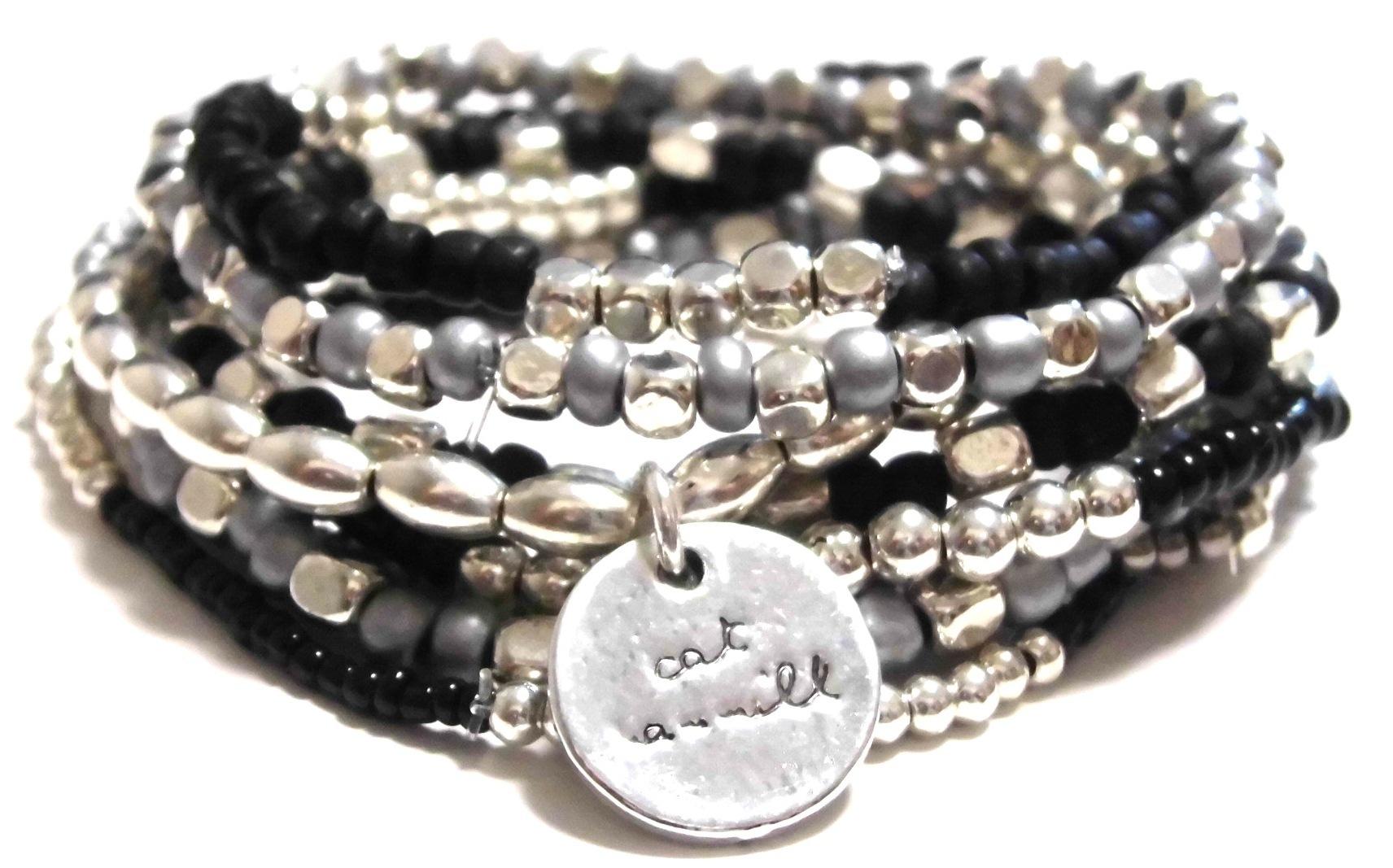 Black and Silver Coco set black silver (2)
