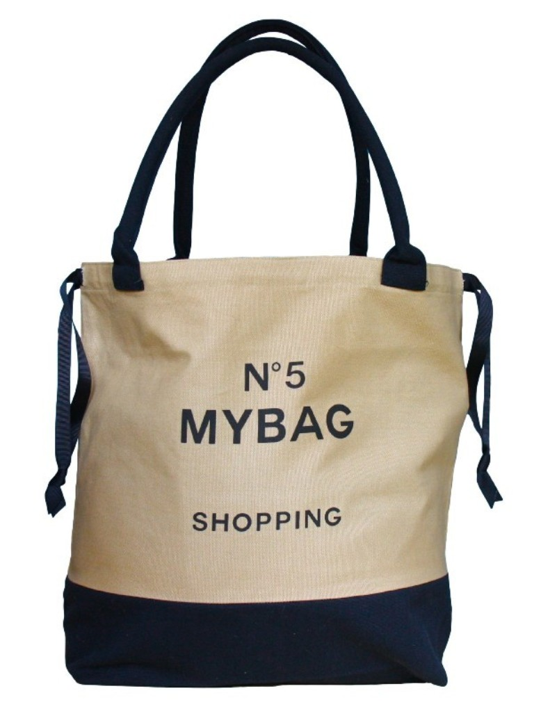 WORLD TRAVELLER TOTE BAG NO 5 SHOPPING