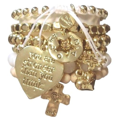 heart bracelet set (2)1