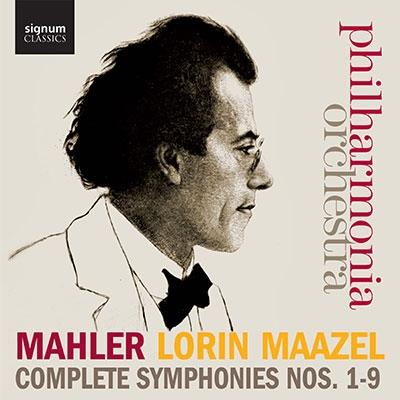 Lorin Maazel Mahler Complete Symphonies No.1-No.9【最安値15CD】ロリン・マゼール マーラー交響曲全集