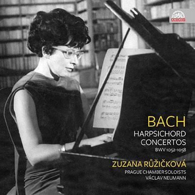 Zuzana Ruzickova J.S.Bach Harpsichord Concertos【最安値2CD】ズザナ・ルージイチコヴァ J.S.バッハ チェンバロ協奏曲集BWV1052-1058