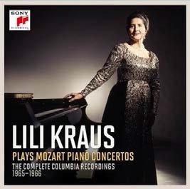 Lili Kraus plays Mozart Piano Concertos【最安値12CD】リリー・クラウス モーツァルト ピアノ協奏曲全集