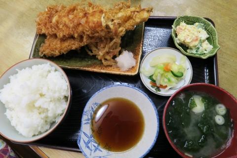 13横須賀走水味美食堂アナゴ定食