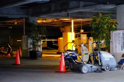 22新港パーク万葉倶楽部駐車場