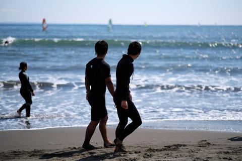 09江の島サーファーたち