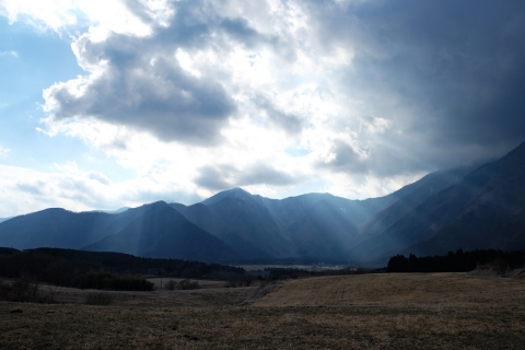 47朝霧高原雲と光