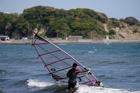 11江の島東浜ウインドサーファー