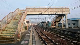 20170218JR香芝駅2