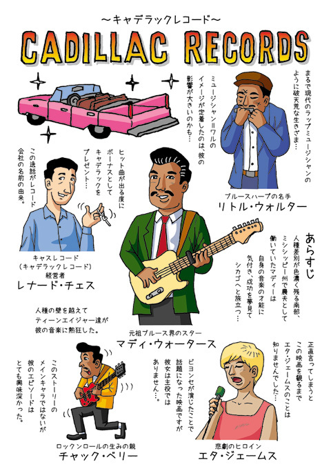 映画レビュー「キャデラックレコード」