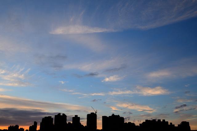 飛行機雲(4)