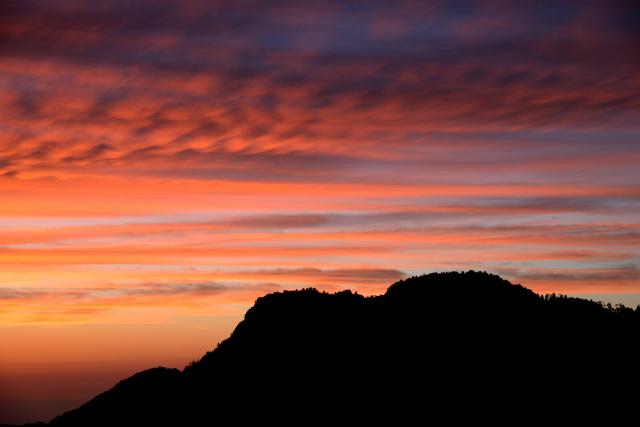 阿里山の夕暮れ(11)
