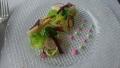 ホワイトアスパラガスと魚介のサラダ仕立て