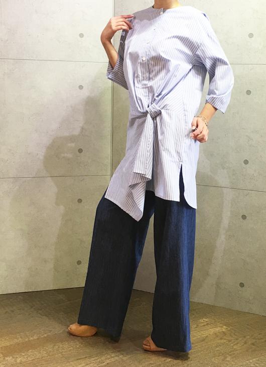 koyuki・コユキのモードなチュニックシャツ