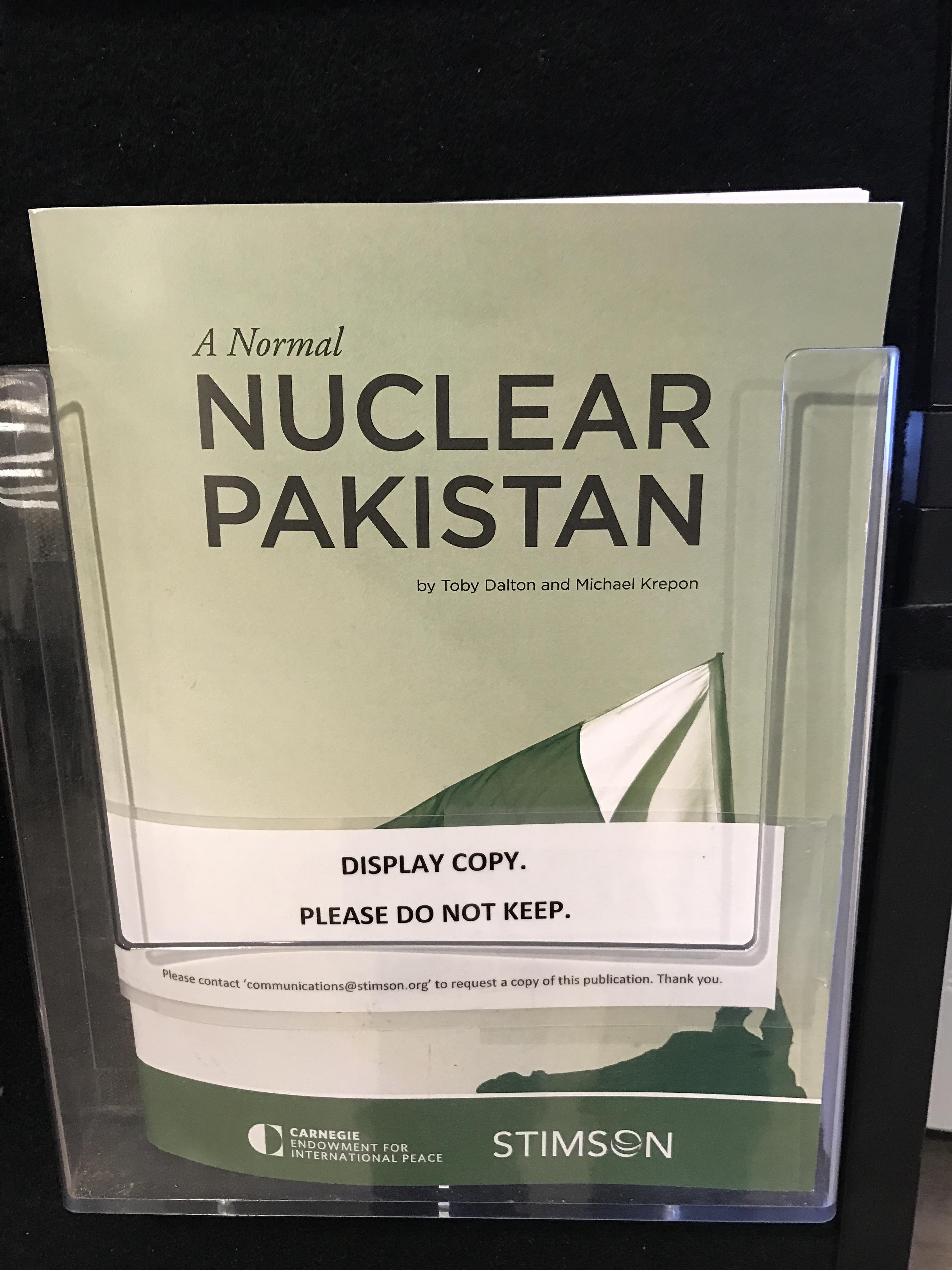 セミナーのために訪れたシンクタンクで見かけて萌えた報告書