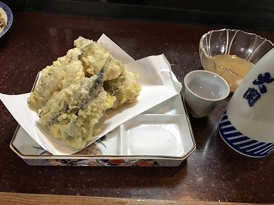 ゲンゲとメヒカリの天ぷら