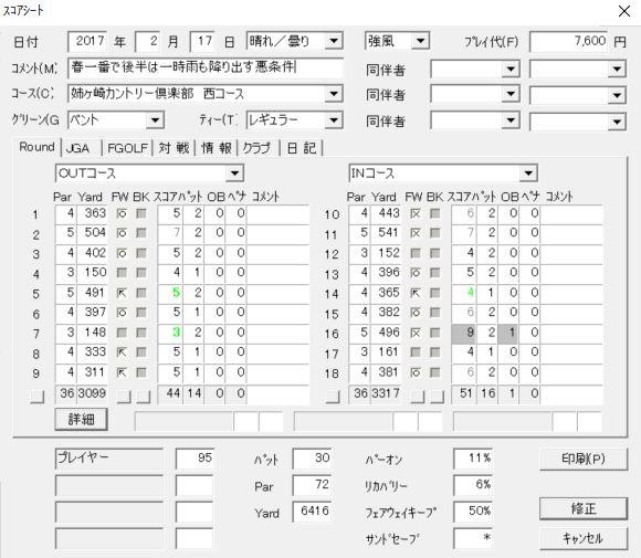 20170217姉ヶ崎スコア