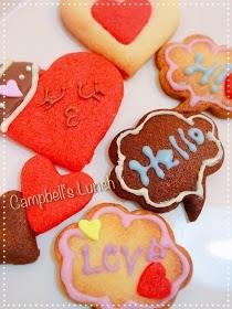 バレンタインバレンタインクッキー