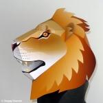 ライオンかぶりもの