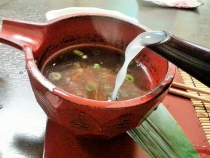 17-4-10 蕎麦湯