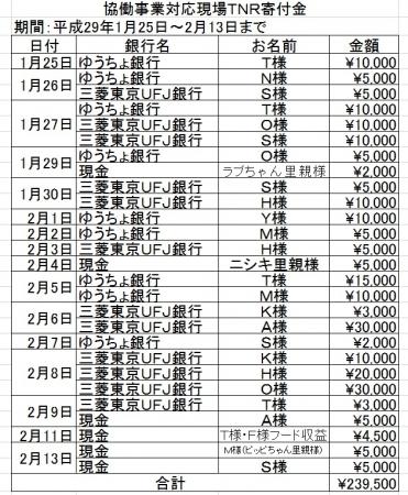 TNR費用
