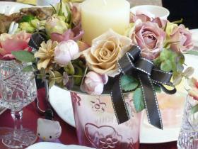 ミカさんのセミナーお花
