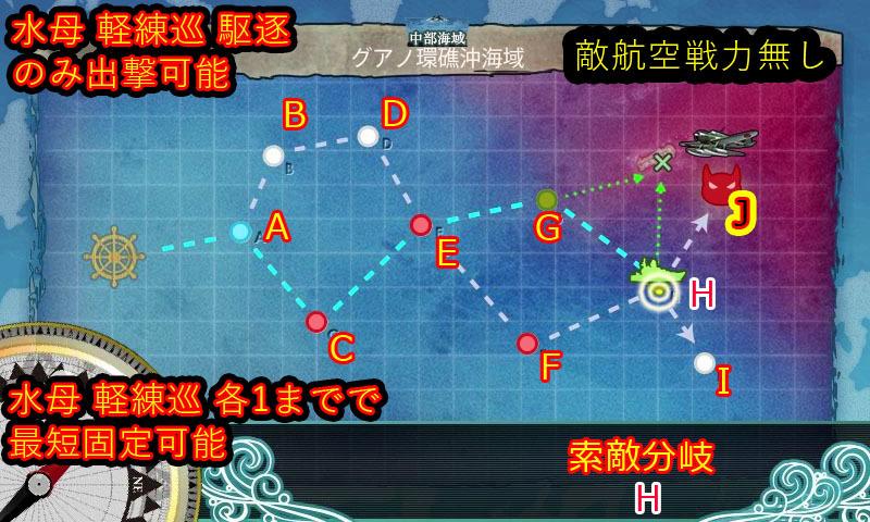 艦これ,6-3,MAP,自作