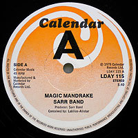 SarrBand-Magic(UK)レーベル200