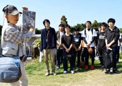 C5NuC-xUMAAGEme平和継承 戦跡で誓う