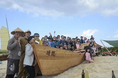 859e420ee7217082e64ff65985c85e5060年ぶりに伝統帆船復活