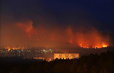 Russian-nuclear-closed-town-on-fireロシアの核閉鎖都市