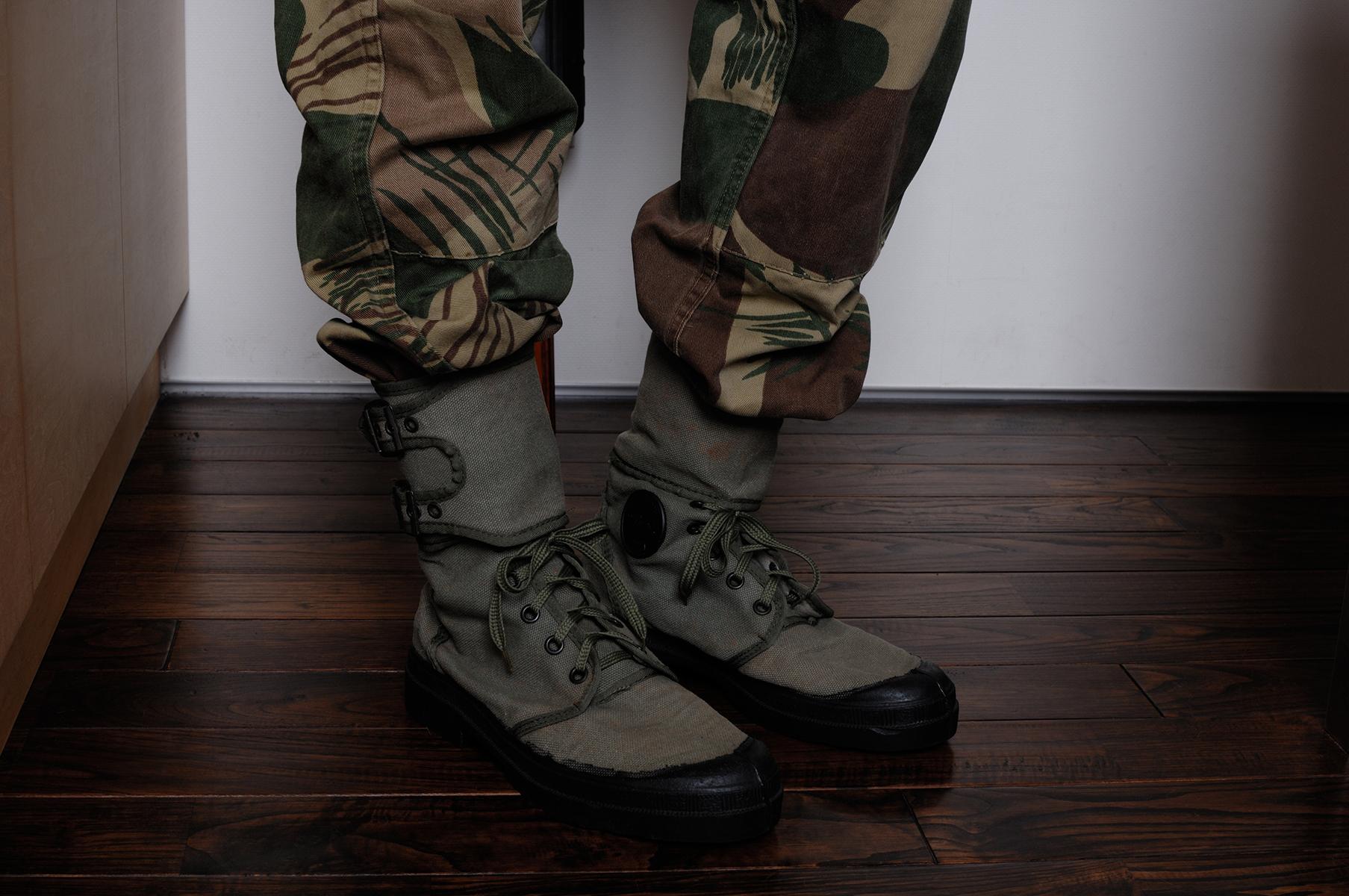 フランス外人部隊トロピカル・コンバットブーツ