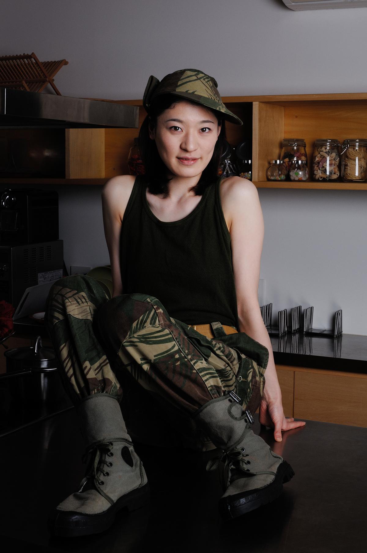 ローデシア迷彩パンツ/実物