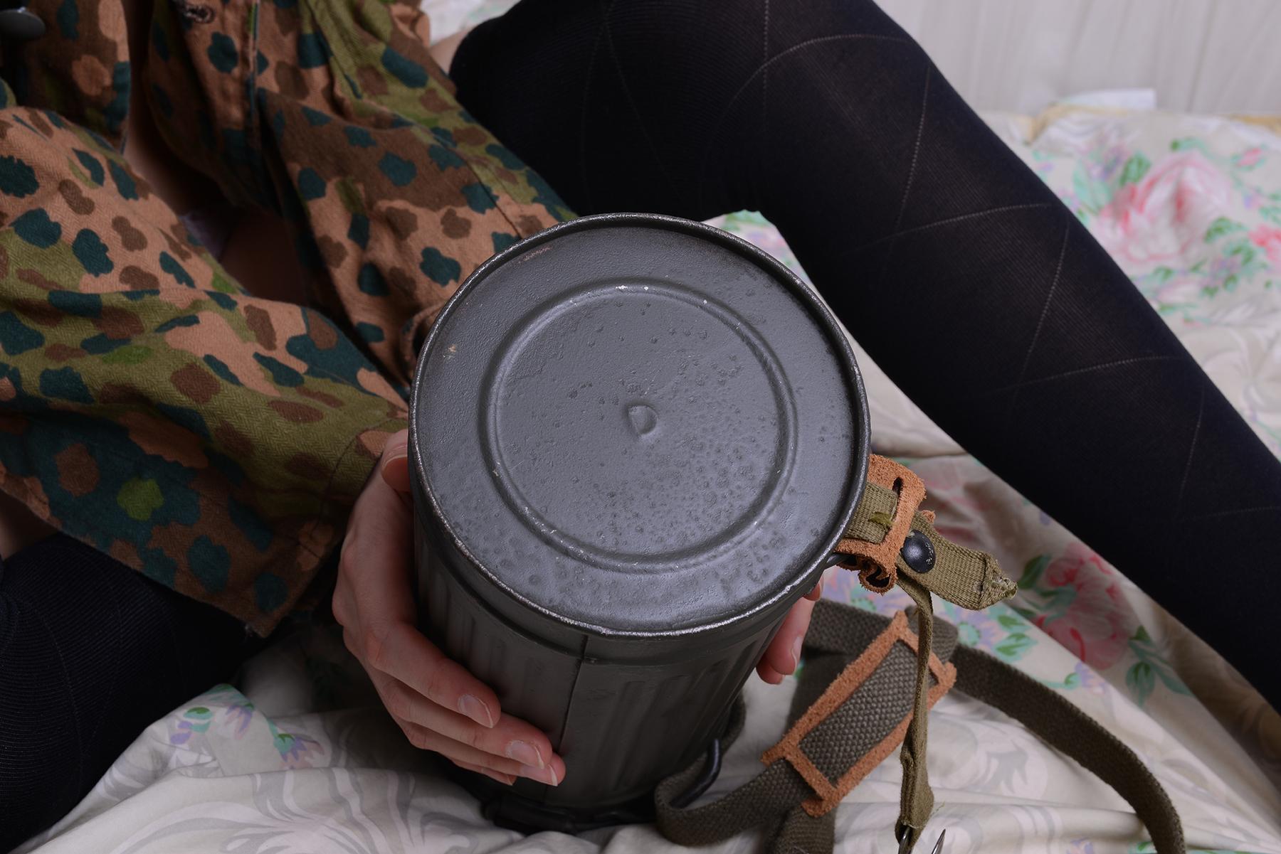 M38ガスマスク缶/1944年製