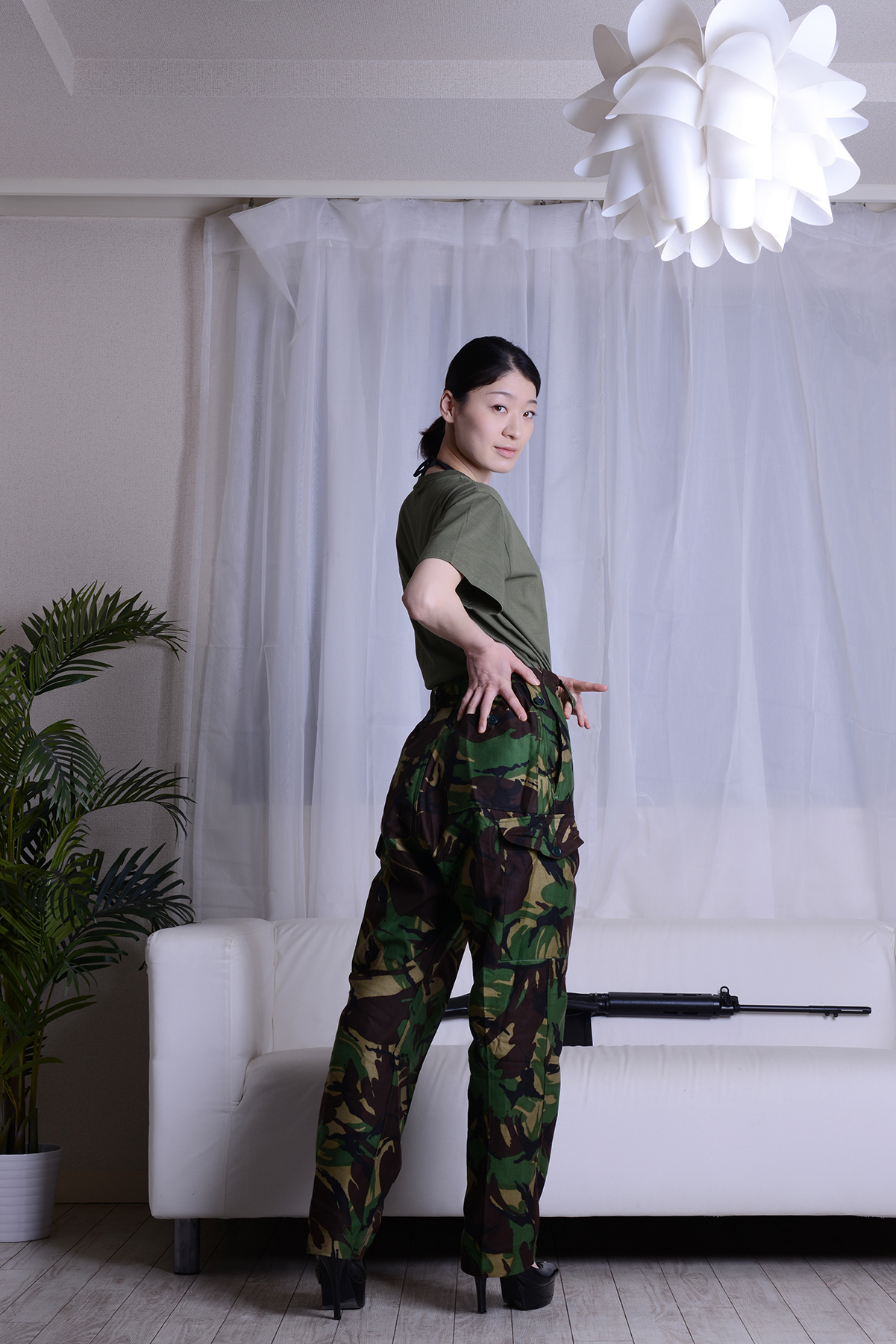 英軍P68迷彩パンツ
