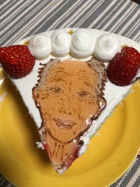 誕生日 ケーキ セルフィーユ 豊川 御津 花屋 花夢