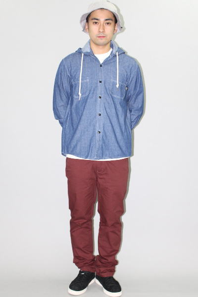 INTERFACE SNAKE HOODED CHAMBRAY SH CHINO PT