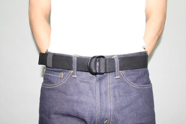 INTERFACE COTTON RING BELT BLK