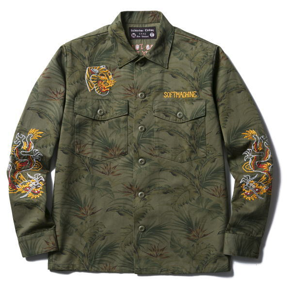 SOFTMACHINE TERRITORY CAMO SHIRTS