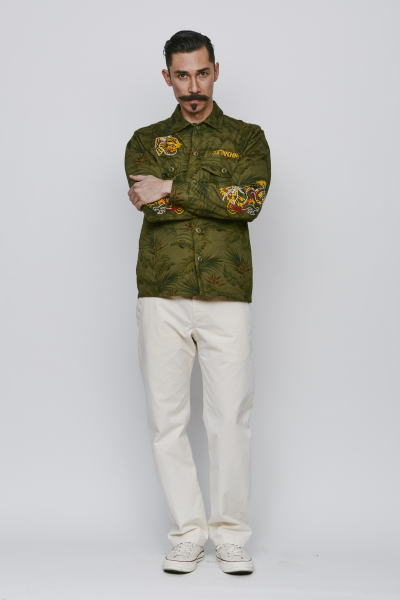 SOFTMACHINE TERRITORY CAMO SHIRTS SNAFU PANTS