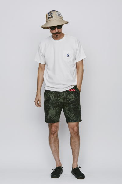 SOFTMACHINE DISHONOUR PILE-T SCOUT SHORTS SCOUT HAT PARKES GLASS