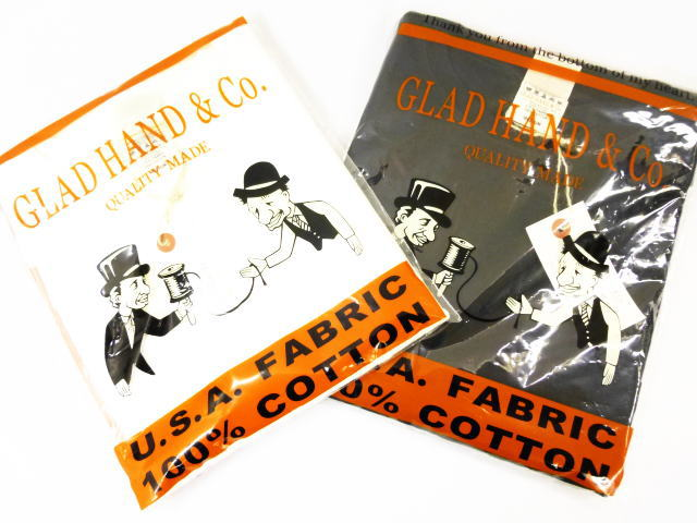 GLAD HAND USED STANDARD HENRY POCKET T-SHIRTS