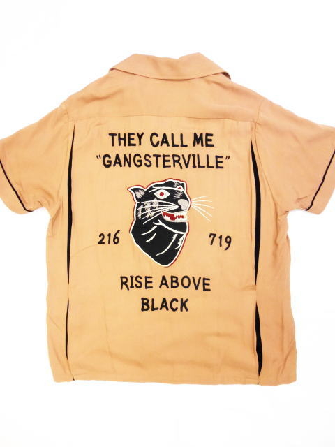 GANGSTERVILLE RISE ABOVE-BOWLING SHIRTS