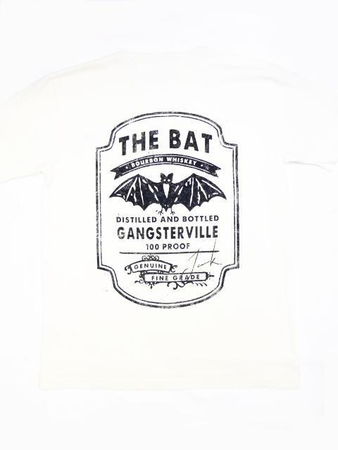 GANGSTERVILLE BAT BOURBON-S/S HENRY T-SHIRTS