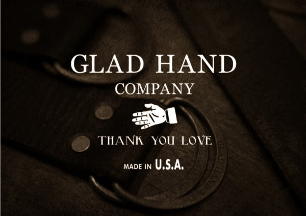 GLAD HAND USA BELT 2017 AUTUMN&WINTER