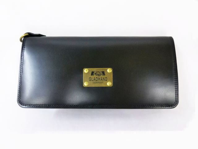 GLAD HAND×PORTER GH-BELONGINGS WALLET BLK