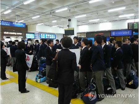 智辯学園の修学旅行は、今年で40回目ということで、4月25日にはソウルで韓国観光公社が主催する記念式典が開催された。